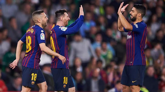 Liga: Sacré champion avec le FC Barcelone Moussa Wague entre dans l'histoire