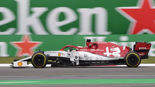 GP Azerbaijan, Raikkonen: ala irregolare, parte dalla pit lane