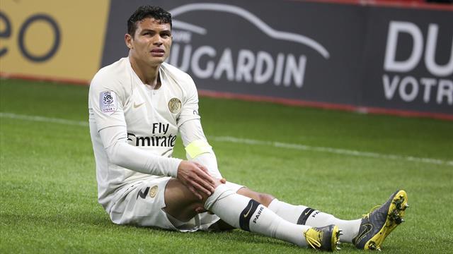Paris SG : Opération et fin de saison pour Thiago Silva