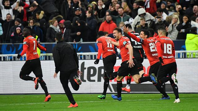 Buts splendides, tension, Mbappé exclu : Rennes a retourné la tête d'un PSG fébrile