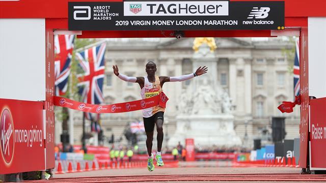 Kipchoge se apunta al Maratón de Londres con Tokio 2020 en el punto de mira