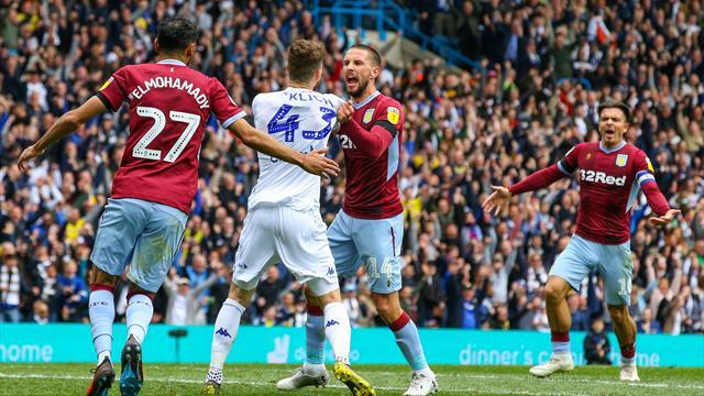 Leeds LET ASTON VILLA SCORE in controversial finale