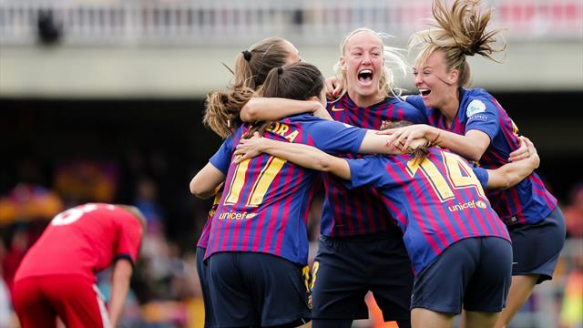 Barca beat Bayern to reach Women's Champions League final