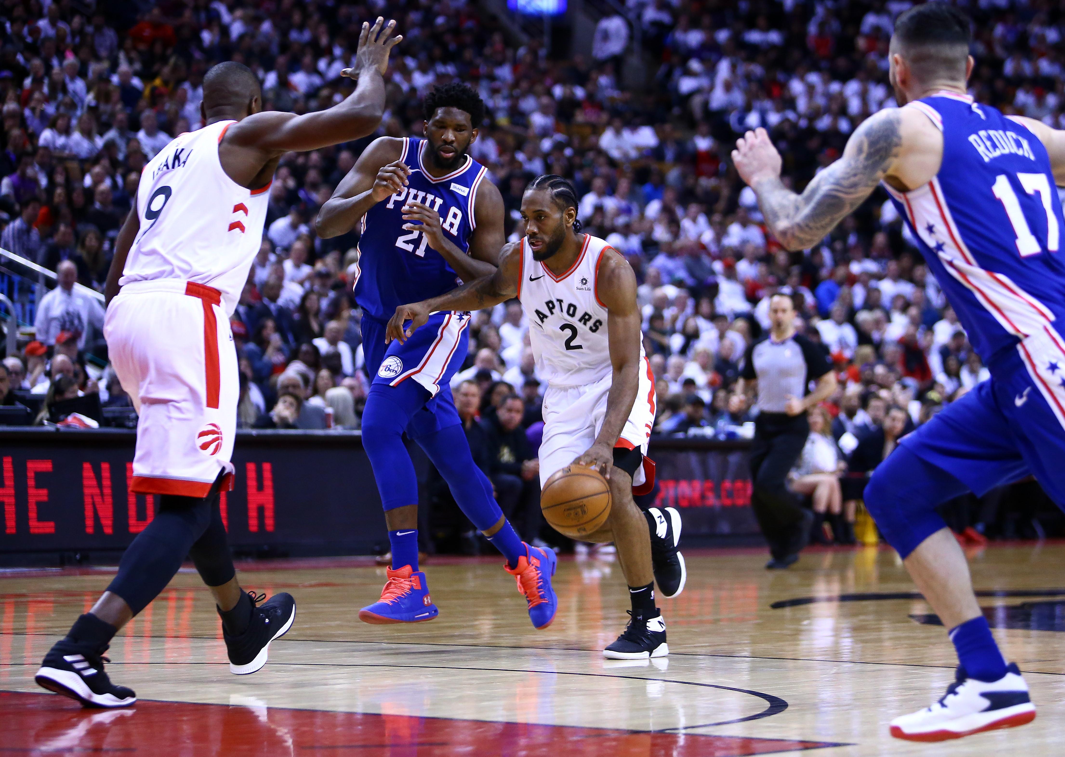 Kawhi Leonard (Toronto Raptors) vs Philadelphia 76ers
