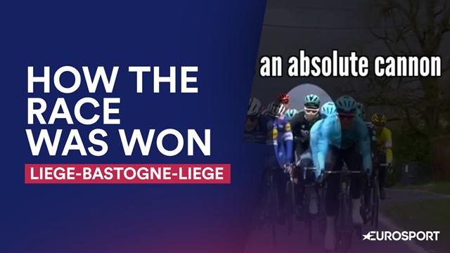 How The Race Was Won: Glorious recap of Liege-Bastogne-Liege
