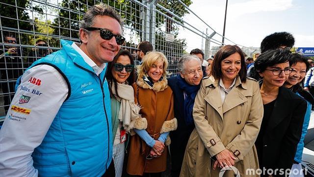 La Fórmula E cambió su vestimenta por los 'chalecos amarillos' en París