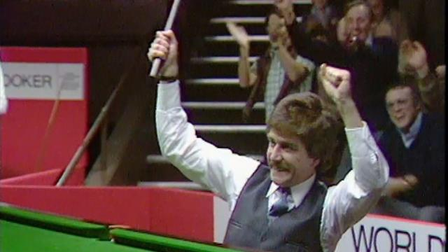 Crucible Memories: 'Iconic!' - Thorburn hits first ever 147 at Crucible