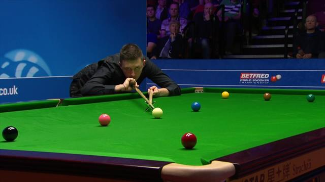 'One of the greatest performances in Crucible history' - Wilson beats Hawkins in 13-11 epic
