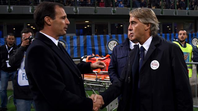 Mancini al lavoro con i giovani: