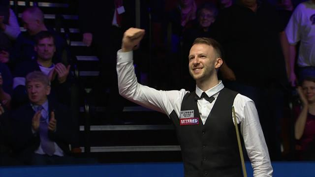 Trump completes big win over Ding to progress at the Crucible