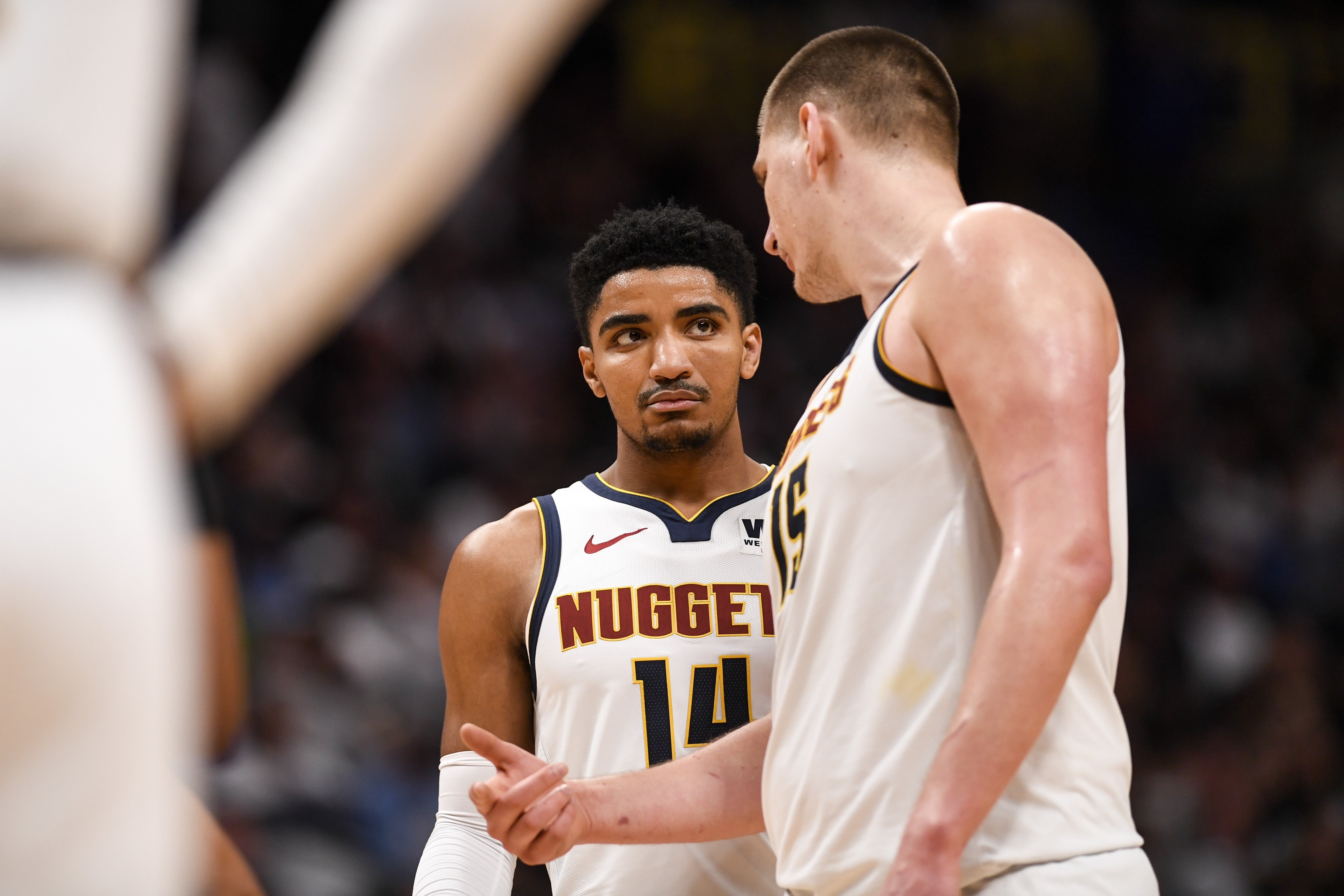 Gary Harris ve Nikola Jokic, Denver Nuggets, 2019