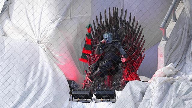 Avant la bataille de Winterfell, le Roi de la Nuit a assisté au match du Lokomotiv Moscou