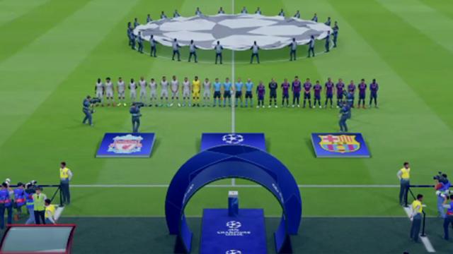 Champions Virtual: Así ha quedado el Barcelona-Liverpool
