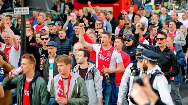 Les supporters de l'Ajax privés de déplacement à Chelsea