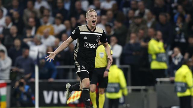 «Аякс» забил в девятой подряд игре Лиги чемпионов на выезде и выиграл первый полуфинал