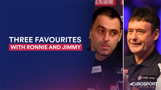 Ronnie and Jimmy's favourites for World Championship glory