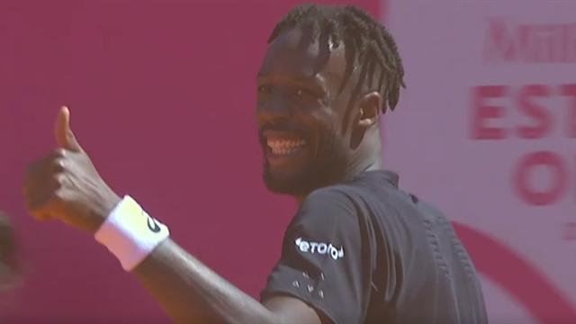 Tennis: Monfils se qualifie pour les quarts à Estoril