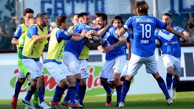 Brescia-Ascoli 1-0, Rondinelle in Serie A: scatta la festa