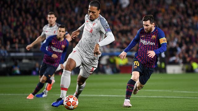 Van Dijk, Messi and Ronaldo lead UEFA Player of the Year nominations
