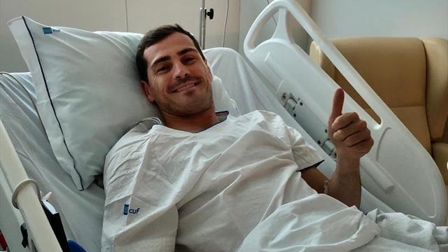 Вратарь «Порту» Касильяс перенес инфаркт ипопал в клинику