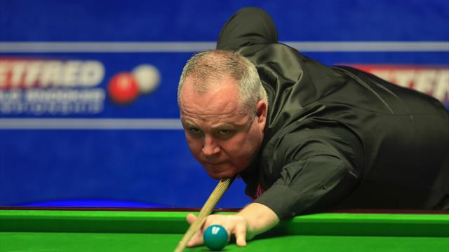 Higgins rolls back the years to reach final four, Gilbert, Trump and qualifier Wilson all through