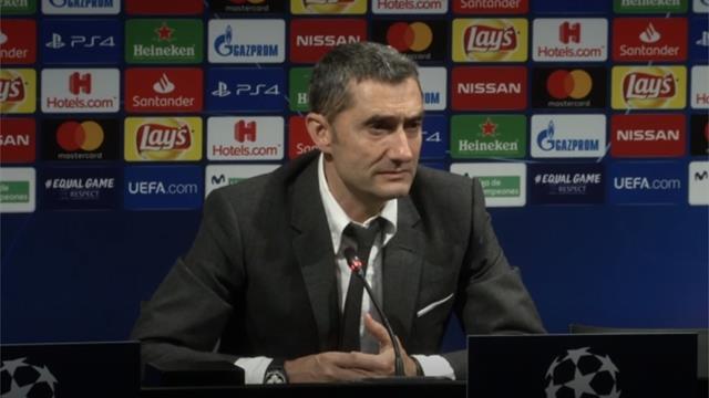 Valverde asegura que no pensó en dimitir tras la dura eliminación en Champions
