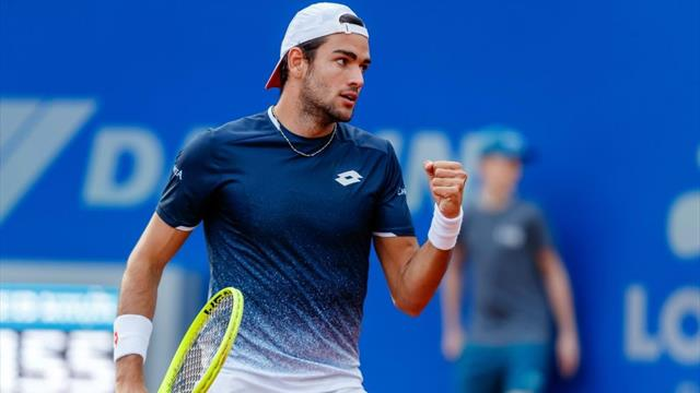 Tennis: Monaco, Berrettini in semifinale