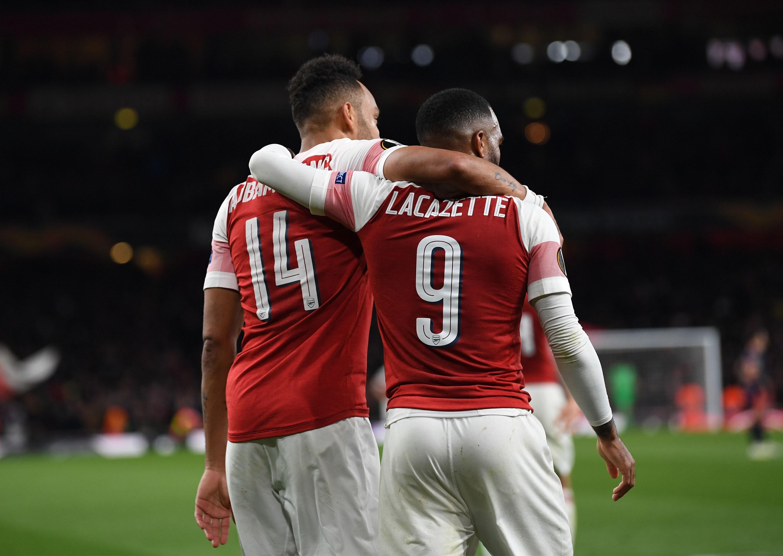 Aubameyang - Lacazette, duo en feu à Arsenal