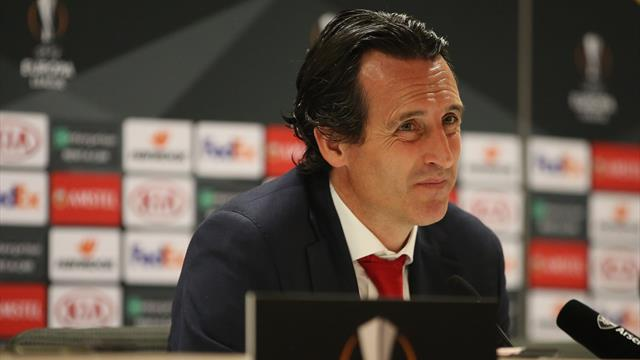 Emery 'very proud' of Lacazette and Aubameyang