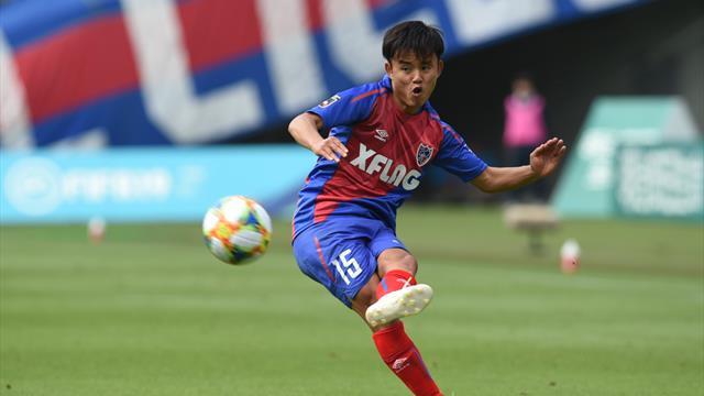Takefusa Kubo, le Messi japonais, signe au Real Madrid — Esp