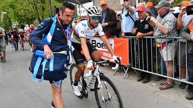 Blessé au bassin, Valverde ne prendra pas le départ de son deuxième Giro