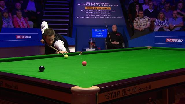 David Gilbert dispatches pressure pot to open four-frame lead