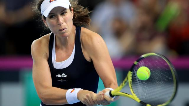 Morocco Open quarter-finals will be next for Johanna Konta