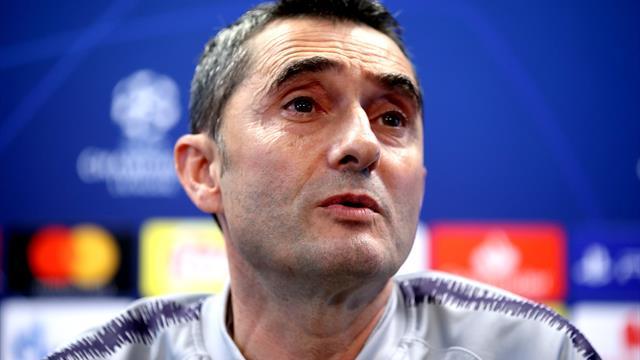 """Valverde: """"Cuando te ganan 4-0, no hay que poner excusas"""""""