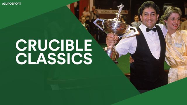 Crucible Classics - Joe Johnson recreates stunning World Championship blue from 1986