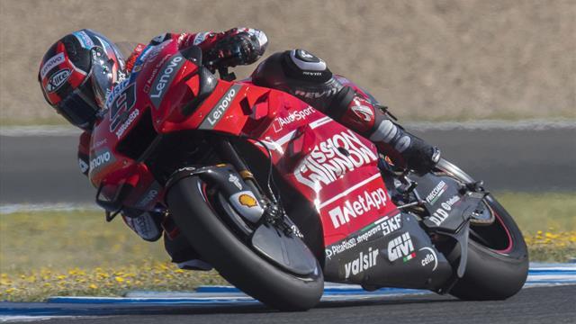 Petrucci prolonge jusqu'en 2020 avec Ducati