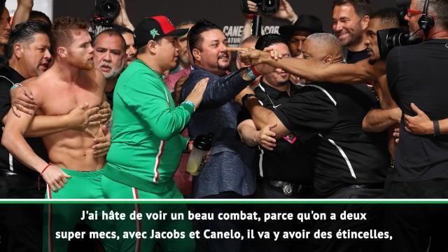 """Poids moyens - Lewis : """"Je penche pour Canelo mais Jacobs est un compétiteur"""""""