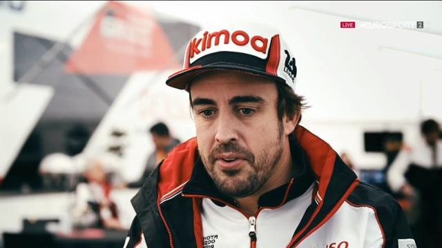 """24 Horas de Le Mans 2019, Alonso, optimista: """"Tenemos mejor ritmo que el Toyota 7"""""""