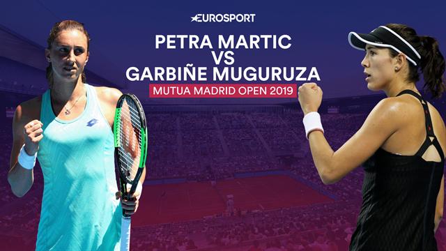 Mutua Madrid Open 2019, Martic-Muguruza: El primer paso hacia la redención (12:30)
