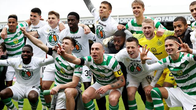 Celtic wrap up 50th league title, eighth in a row