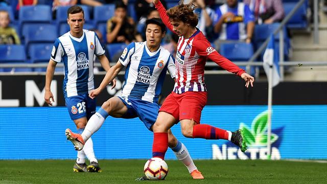"""Résultat de recherche d'images pour """"Espanyol 3:0 Atletico Madrid"""""""