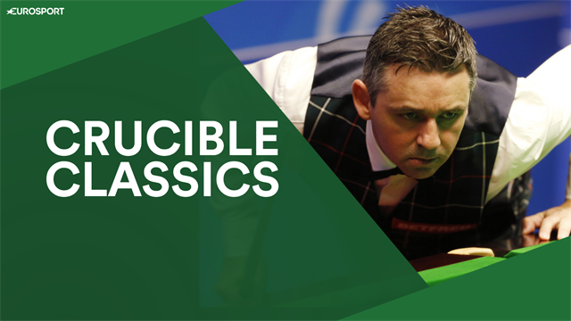 Crucible Classics: Alan McManus attempts epic four-cushion pot from 2016
