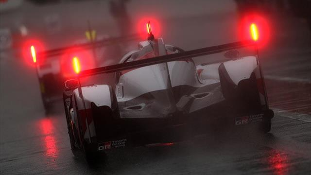 6 Horas de Spa-Francorchamps: La Lluvia obliga a suspender la carrera a diez minutos para el final