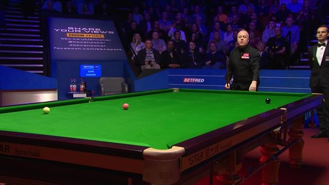 Higgins holds his nerve to progress to eighth world final