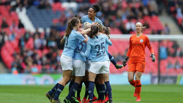 Women's FA Cup Final 2019: Man City beat West Ham 3-0
