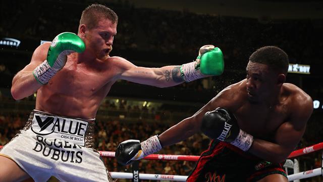 Canelo ajoute la ceinture IBF à ses titres WBC et WBA des moyens