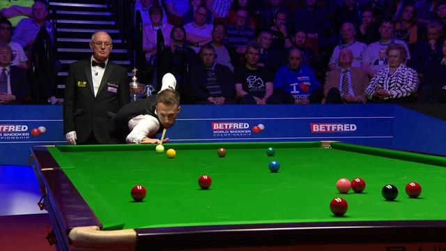 'That is the late, great Alex Higgins at his best' – Trump produces majestic pot at the Crucible