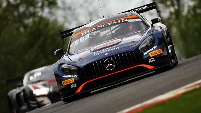 Brands Hatch : Black Falcon remporte aux points la 1re manche du World Challenge Europe 2019