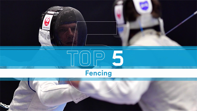 Top 5: Moments from FIE Fencing - Cali GP 2019