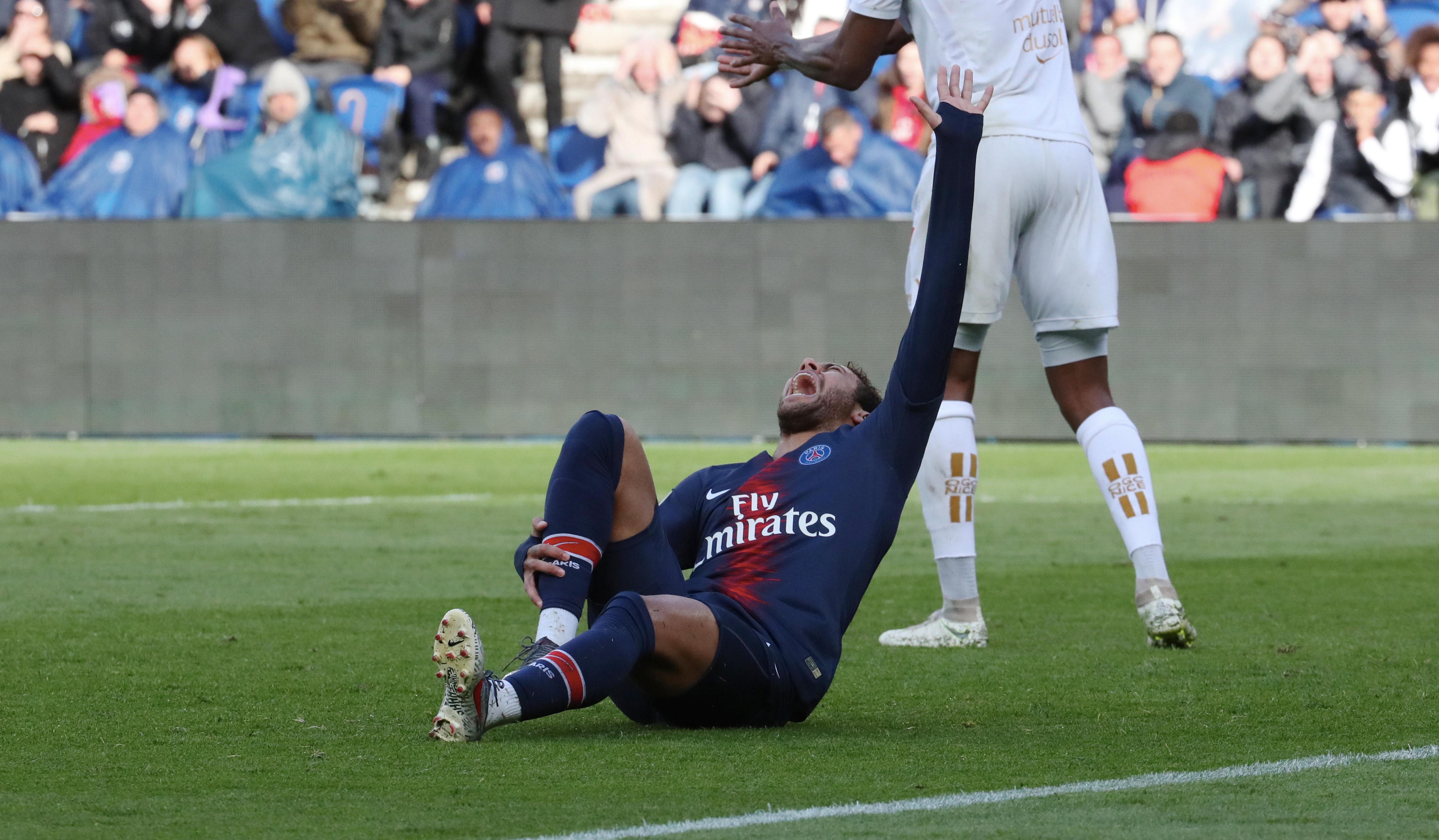 Neymar - PSG-Nice 2019